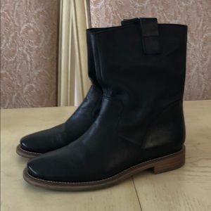 Cole Haan Air Daughtry Black Leather Boots